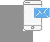 Send Automatic <br>SMS & E-Mails